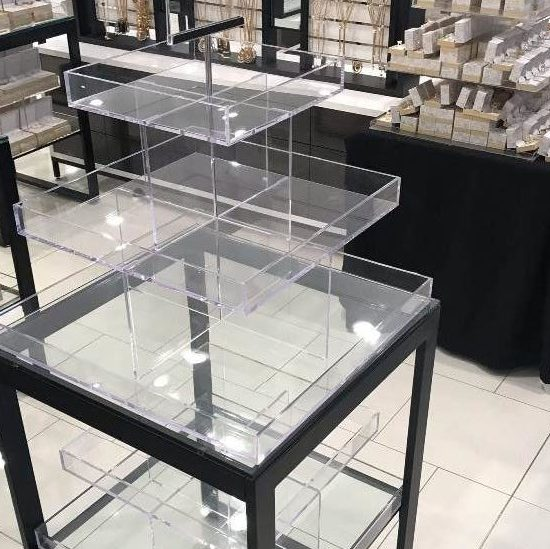 Acrylic--Macy's Open Sell Jewelry