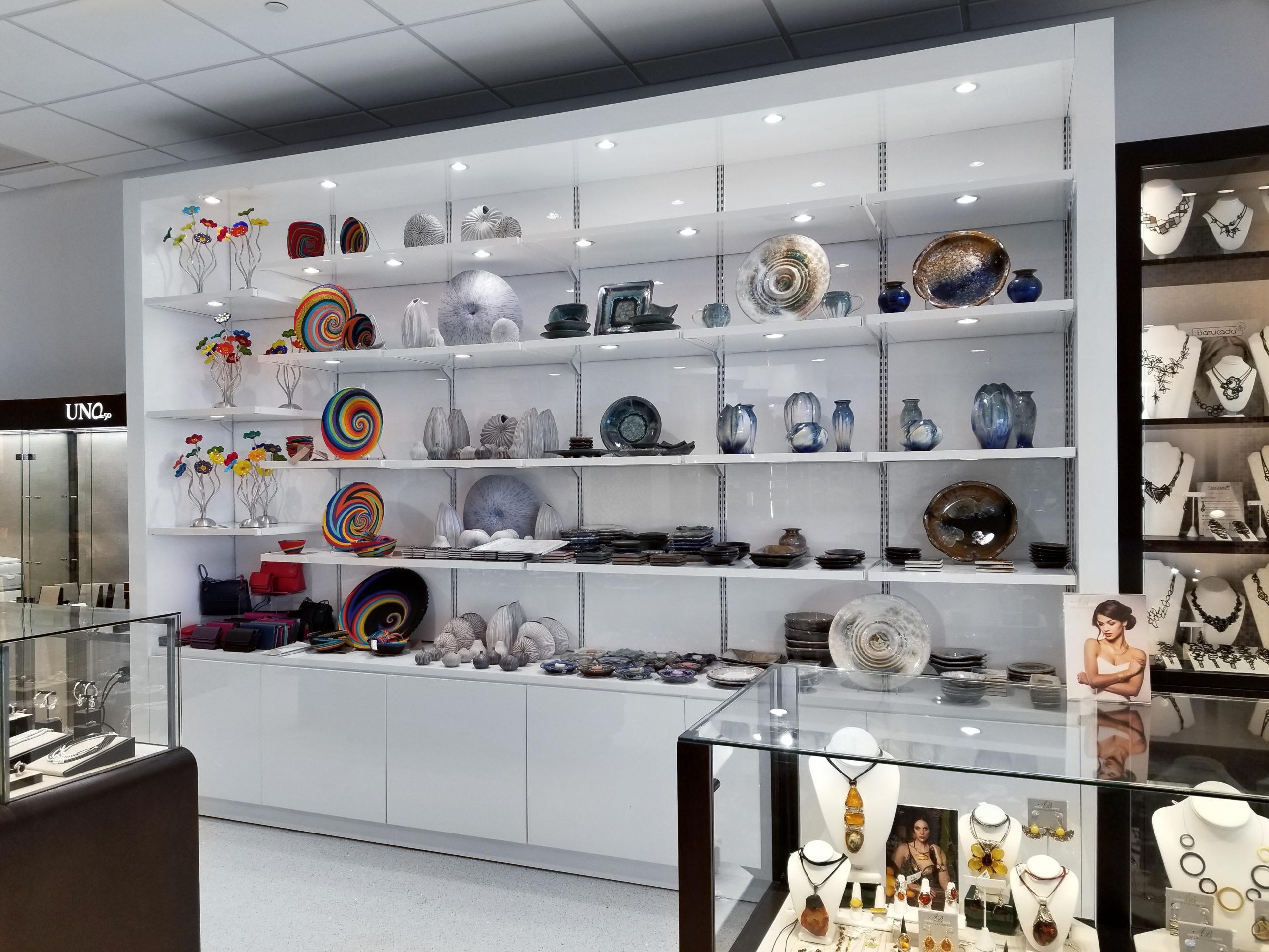 Smartwall, wall display, led shelf
