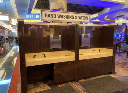 casino, gaming, slot base, hand wash station