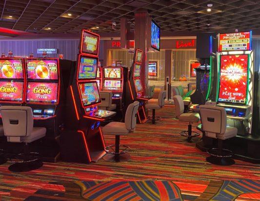 casino, gaming, slot base, plexi dividers