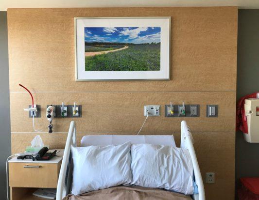 Venforma, hospital head board, wall protection