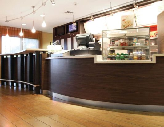 FOOD SERVICE, grocery, food service display, cash wrap, wall protection
