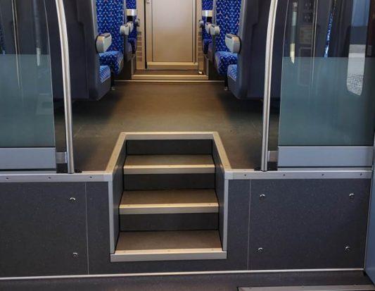 Transportation, wall panels, floor plates